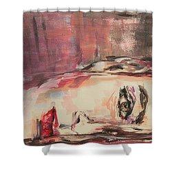 Pillow Talk Shower Curtain