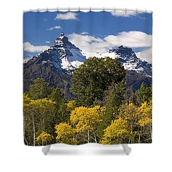 Pilot And Index Shower Curtain