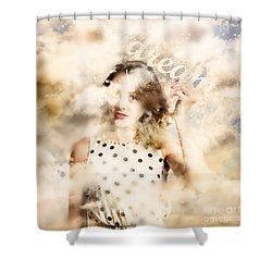 Shower Curtain featuring the photograph Pin-up Your Dreams by Jorgo Photography - Wall Art Gallery