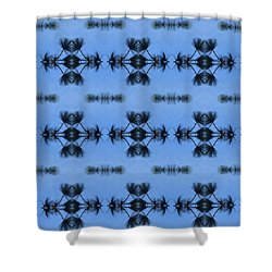 Pine Branches Abstract Shower Curtain