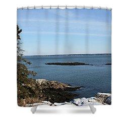 Pine Coast Shower Curtain