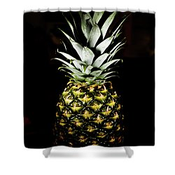Pineapple In Shine Shower Curtain