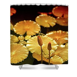 Pineapple Pond Shower Curtain