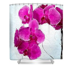 Pink Appeal Shower Curtain
