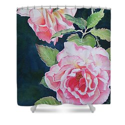 Pink Beauties  Sold  Original Shower Curtain