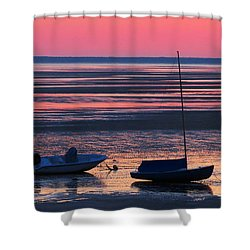 Shower Curtain featuring the photograph Pink Dawn by Dianne Cowen