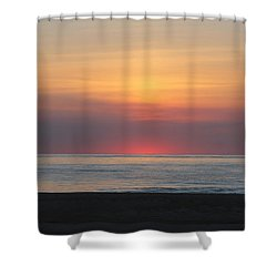 Shower Curtain featuring the photograph Pink Dawn by Robert Banach