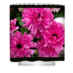 Shower Curtain featuring the photograph Pink by Diana Mary Sharpton