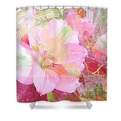 Pink Heaven Shower Curtain