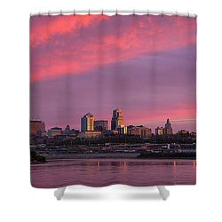 Pink Kc II Shower Curtain