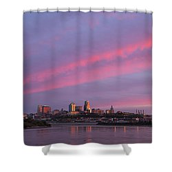 Pink Kc IIi Shower Curtain
