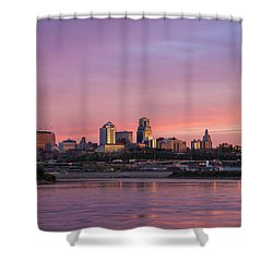 Pink Kc Shower Curtain