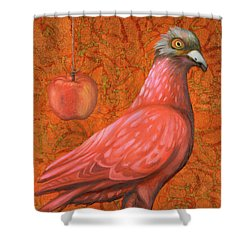 Pink Lady Shower Curtain by Leah Saulnier The Painting Maniac