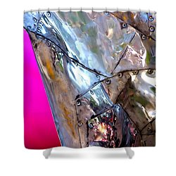 Shower Curtain featuring the photograph Pink Lustre  by Prakash Ghai