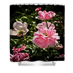 Shower Curtain featuring the photograph Pink Passion  by Joann Copeland-Paul