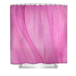 Shower Curtain featuring the photograph Pink Peony Perfection by David Coblitz