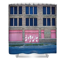 Shower Curtain featuring the photograph Pink Promises by Trish Mistric