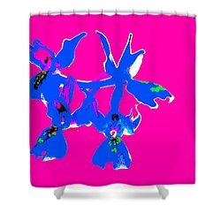 Pink Provence Orchid Shower Curtain