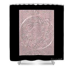 Pink Ring. Special Shower Curtain by Oksana Semenchenko