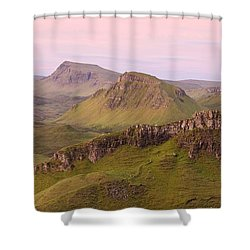 Pink Skye  Shower Curtain