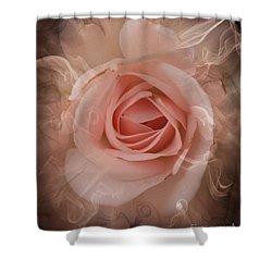 Pink Smokey Shower Curtain
