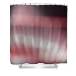 Pink Swirl Shower Curtain by Allen Beilschmidt