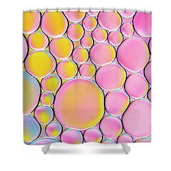 Shower Curtain featuring the photograph Pinkalicious by Tim Gainey