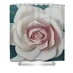 Pinky Flower Shower Curtain