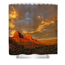 Pinnacle Of Light Shower Curtain