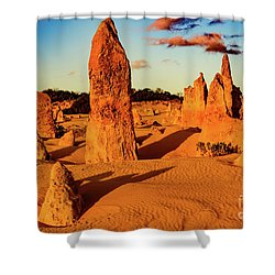 Shower Curtain featuring the photograph Pinnacles 7 by Werner Padarin
