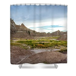 Pinnacles Of The Badlands Shower Curtain