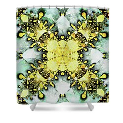 Pinned Down Shower Curtain by Jim Pavelle