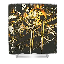Shower Curtain featuring the photograph Pins Of Horror Fashion by Jorgo Photography - Wall Art Gallery