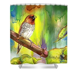 Pinzon Canella Shower Curtain by Janet Garcia