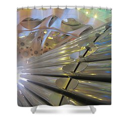 Pipe Organ Of La Sagrada Shower Curtain
