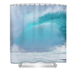 Pipeline First Reef Shower Curtain by Kevin Smith