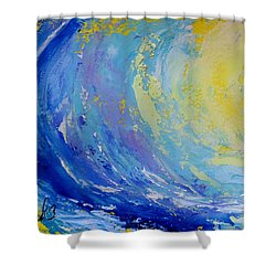 Pipeline Shower Curtain