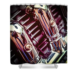 Shower Curtain featuring the photograph Pipes by Samuel M Purvis III