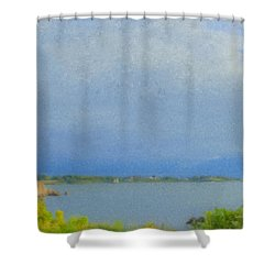 Pirate Cove Jamestown Ri Shower Curtain
