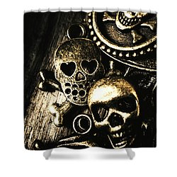 Pirate Treasure Shower Curtain by Jorgo Photography - Wall Art Gallery