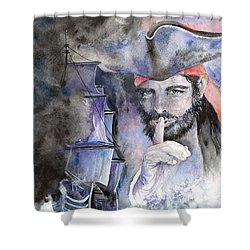 Pirate's Bounty Shower Curtain