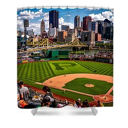 Pirates Day Game Shower Curtain