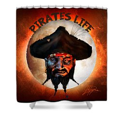 Pirates Life Shower Curtain