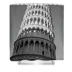 Pisa Tower Shower Curtain