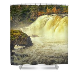 Pisew Falls Shower Curtain