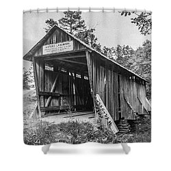 Pisgah Covered Bridge No. 1 Shower Curtain