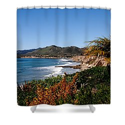 Pismo Beach California Shower Curtain by Susanne Van Hulst