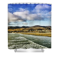 Pismo Beach View Shower Curtain