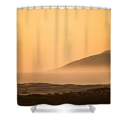 Pismo Sunrise Shower Curtain