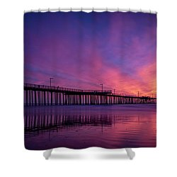 Shower Curtain featuring the photograph Pismo's Palette by Sean Foster